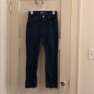 Old navy power jean ankle